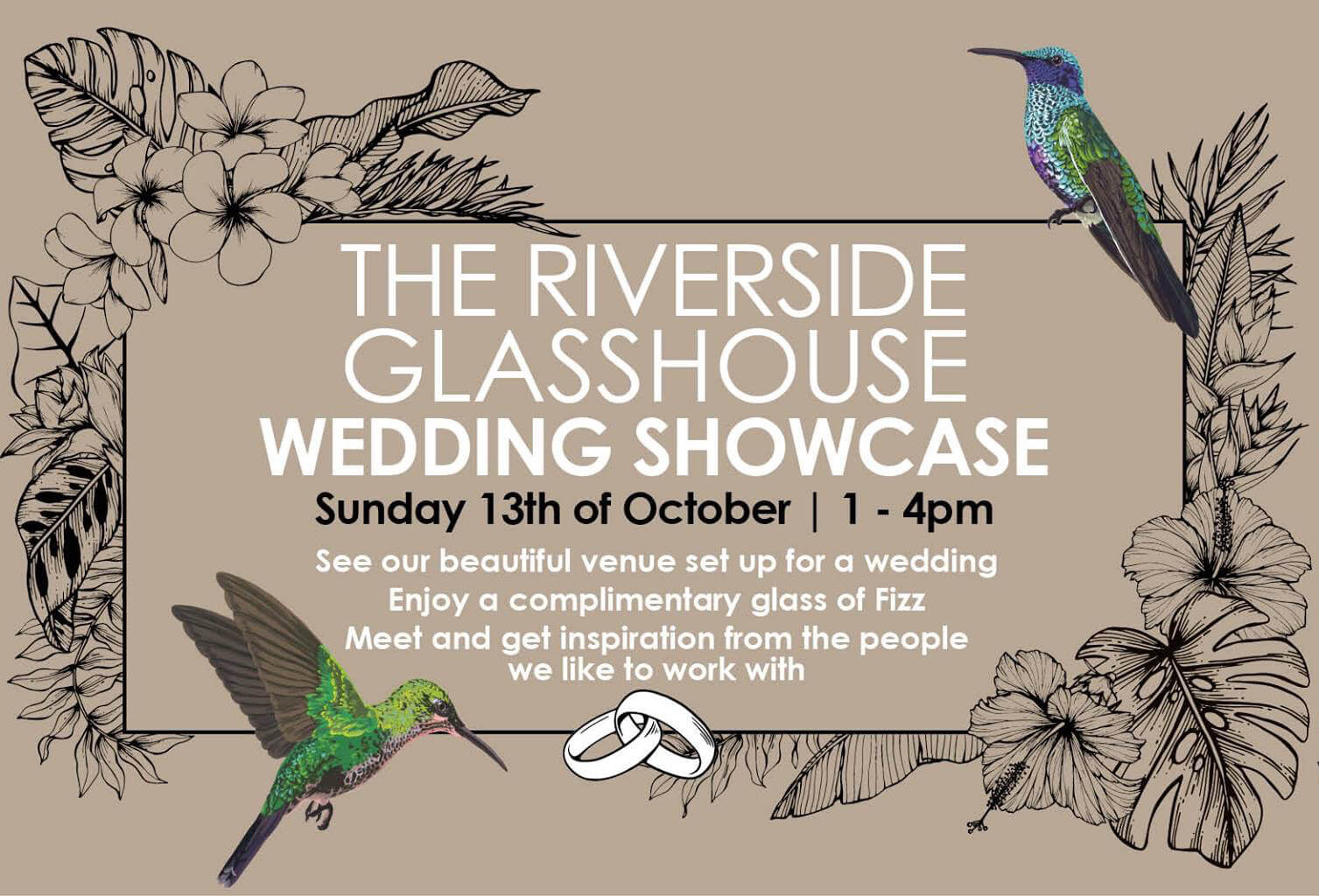 The Riverside Glasshouse Wedding Showcase