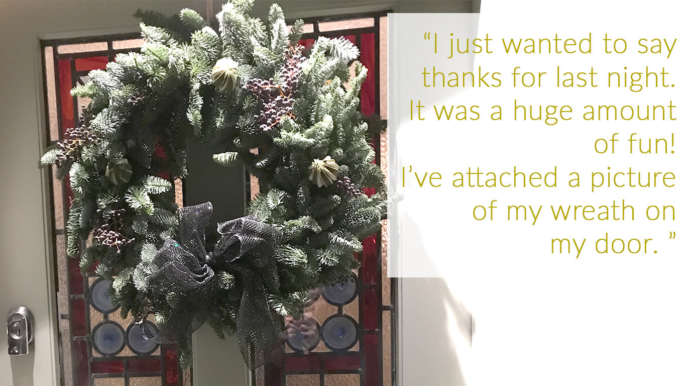 Wreath Feedback 2