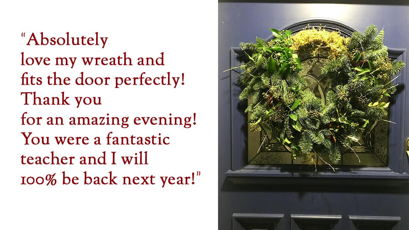 Wreath Feedback 3