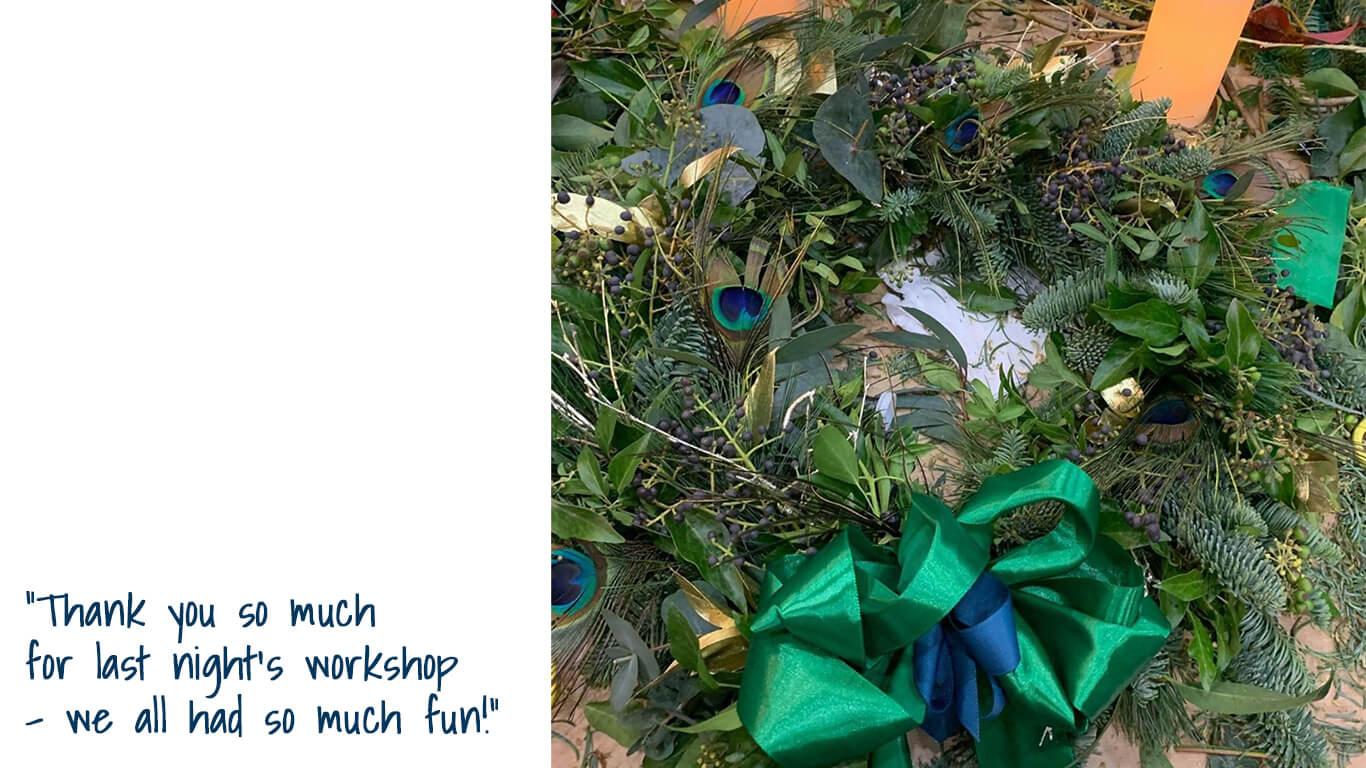 Wreath Feedback 4