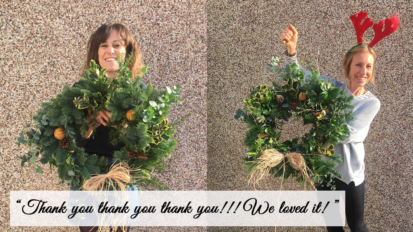Wreath Feedback