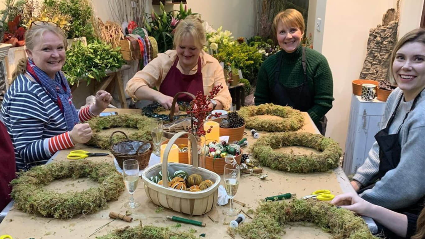 Wreath Making 3