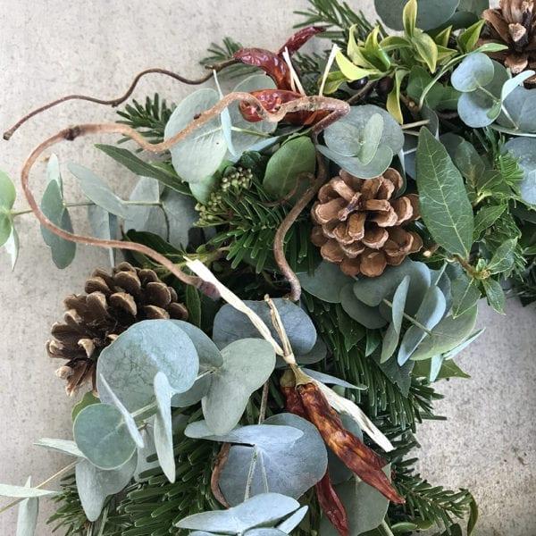 Regency Flowers Rustic Christmas Wreath