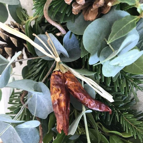 Regency Flowers Wreath Chillis