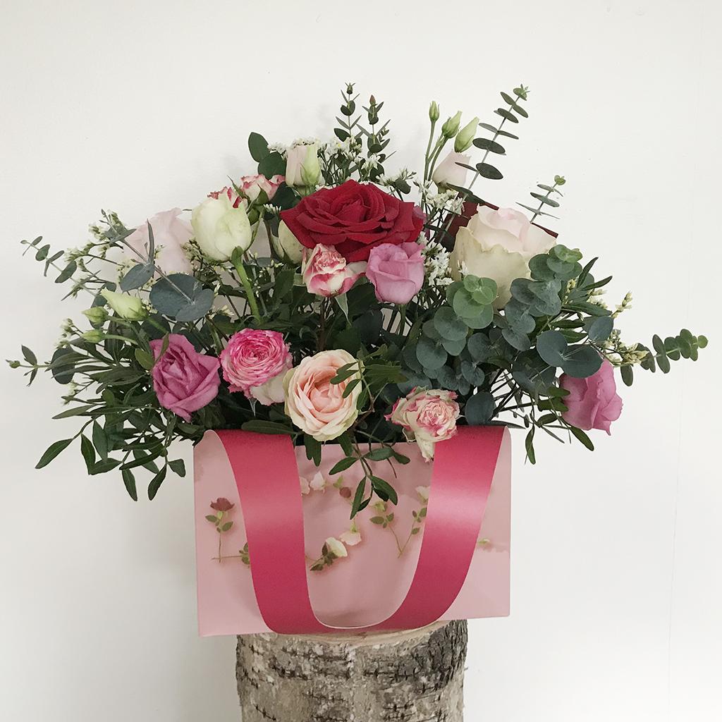 Valentines Love Flowers