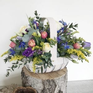 Clarendon Flower Basket